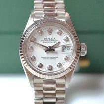 Rolex Lady Datejust in Weißgold, selten