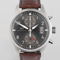 "IWC Spitfire Chronograph 43mm ""Complete Set"""