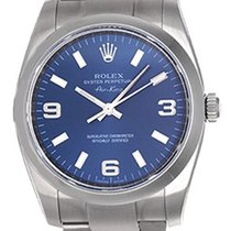 Rolex Air-King Stainless Steel Men's Watch 114200