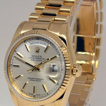 Rolex Mens Day-Date President 18k Gold Watch Box/Tags F 118238