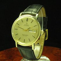 Omega Seamaster De Ville 14kt 585 Gold Day-date Automatic...