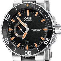 Oris Aquis Small Second Date 01 743 7673 4159-07 8 26 01PEB