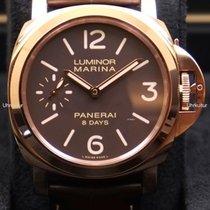 Panerai Luminor Marina 8 Days Oro Rosso, Ref. PAM00511
