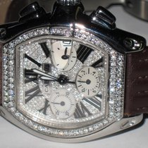 Cartier Roadster XL Chronograph Diamonds