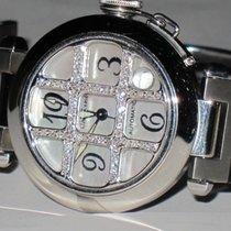 Cartier Pasha Automatic Gold Grill Diamonds MOP