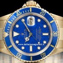 Rolex Submariner Data Lapis Lazuli Dial  Watch  16618
