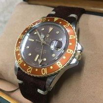 Rolex GMT Master - 1675 - Steel / Gold - Watch + Box Only - 1970
