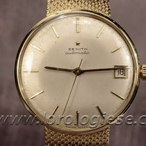 Zenith Automatic Classic 18kt. Gold Vintage Piepan Dial Watch...