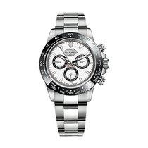 Rolex Daytona Stainless Steel White Dial Ceramic Bezel 116500LN