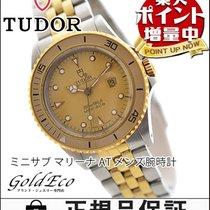 Tudor 【美品】【チュードル】  ミニサブ アンティーク ボーイズ腕時計【中古】 73091 自動巻き 18KGP/SS...