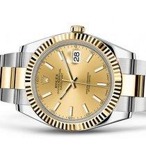 Rolex Datejust 126333 Champagne Index Unworn full set