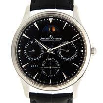 Jaeger-LeCoultre Master Ultra Thin Stainless Steel Black...