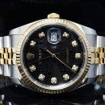 Rolex 2015 36mm Steel & Gold Datejust, Diamond Dot,...