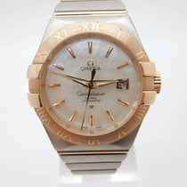 Omega Constellation Ladies 31mm Rosegold/Stahl, Perlmutt