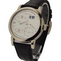A. Lange & Söhne 101.039 Lange 1 in White Gold - on Black...