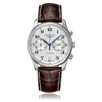 Longines Master Collection White Stainless Steel Automatic...