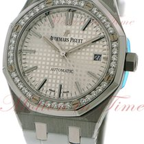 Audemars Piguet Royal Oak Ladies Automatic, Silver Dial,...