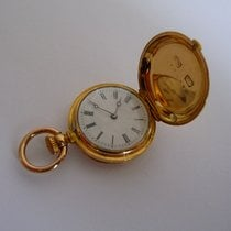 Patek Philippe Gold Miniature Pocket Watch 18k 23 mm