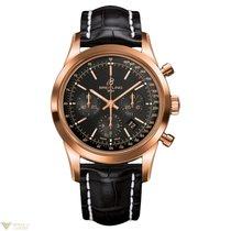 Breitling Transocean Chronograph 18k Rose Gold Men's Watch