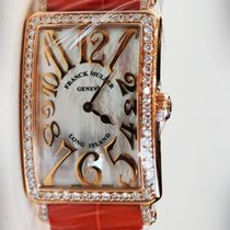 Franck Muller Long Island in Rose Gold and Diamond Bezel 952...