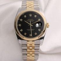 Rolex DateJust 116233 Diamond Dial Steel & Gold
