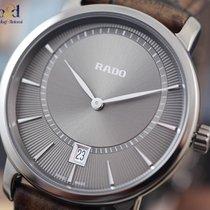Rado DiaMaster Plasma High-tech Ceramic/Leather 40mm Grey Indexes
