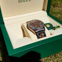 Rolex 116185bbr Rose Gold Zebra - Datejust