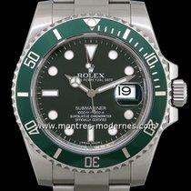 "Rolex Submariner Date Réf.116610lv Dite ""hulk"""