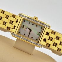 Citizen Eco-drive Mother Of Pearl Dial Gold Plated Watch