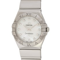 Omega : Ladies Constellation Quartz :  123.10.24.60.55.002 : ...