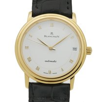 Blancpain Villeret Ultra Slim 18k Yellow Gold 34mm Automatic