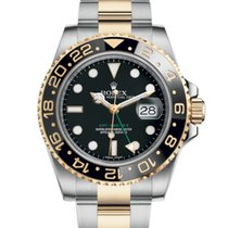 Rolex GMT-Master II Steel Gold Black Dial