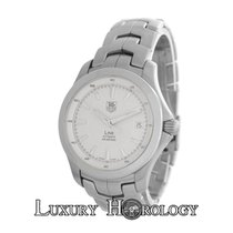 TAG Heuer Authentic Men's Link WJF2111 Stainless Steel...