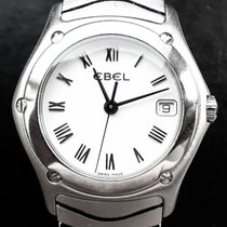 Ebel Classic Wave 27mm Extravagante Hochfeine Ledies Armbanduhr