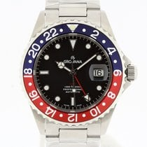 Grovana Automatic Diver GMT PEPSI Bezel NEW 2 Years Warranty...