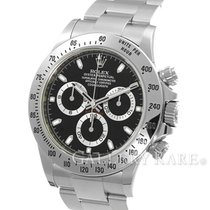 "롤렉스 (Rolex) Cosmograph Daytona Black Dial Steel 40MM ""2016..."