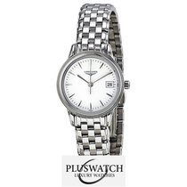 Longines Flagship White Dial Stainless Steel