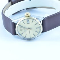 Rolex Oyster Perpetual Datejust Damen Uhr Stahl/gold Automatik