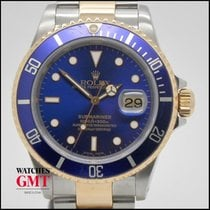 Rolex Submariner Date Steel & Gold Blue Serie P