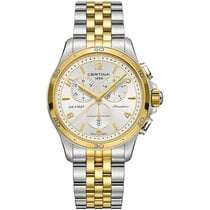 Certina DS First Lady Keramik Chrono Damenuhr C030.217.22.037.00