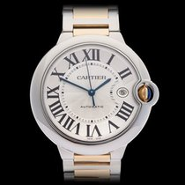 Cartier Ballon Bleu Stainless Steel & 18k Yellow Gold...
