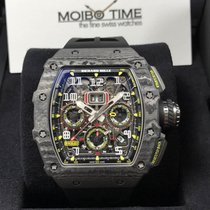 Richard Mille RM11-03 Black Carbon TPT NTPT Annual Calendar...