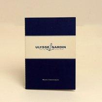 Ulysse Nardin Marine Chronograph Booklet