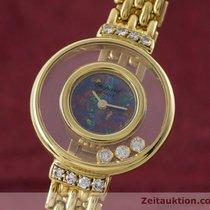 Chopard Lady 18k Gold Happy Diamonds Damenuhr Diamanten Ref 4100