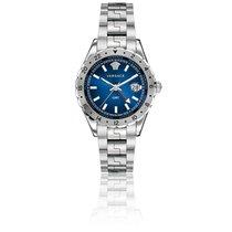Versace Montre Hellenyium GMT Cadran Bleu 42mm V1101 0015