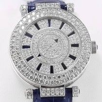 Franck Muller Double Mystery Ronde White Gold Diamonds