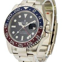 Rolex Unworn 116719BKSO GMT Master II - White Gold Pepsi -...