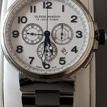 Ulysse Nardin MAXI Marine diver Chronograph chronometer White...