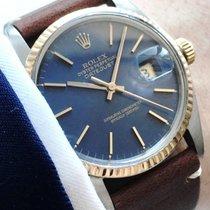 Rolex Serviced wonderful Rolex Datejust Automatic blue dial 16013