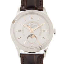 Patek Philippe New  Grand Complications White Gold Silver...